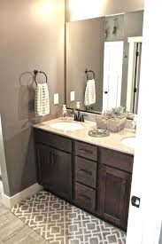 colorful bathroom rugs coffee brown wooden vanity with large mirror using enticing colorful bath rugs colorful