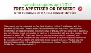 Red Lobster Coupon Codes 2017 Grab Your Printable Coupons