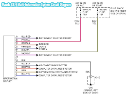 2008 mazda cx 9 multi information system circuit diagram mazda cx 9 multi information system circuit diagram
