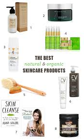 the best organic skincare brands and natural s for the face and body green beauty