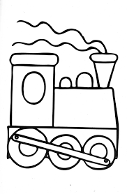 Small Picture Train Coloring Pages For Toddlers Coloring Coloring Pages