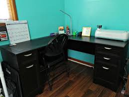organize your space with realspace magellan collection l shaped desk at office depot