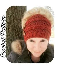 Bun Hat Pattern Cool Free Messy Bun Beanie Crochet Pattern Crochet Hats And Headbands