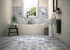 Patterned Bathroom Floor Tiles Beauteous Wall Bathroom Tiles Guide To Using Decorative Patterned Wall Floor