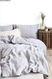 photo light grey linen duvet cover ideas stone washed european linen bedding made in lithuania