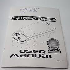 sunstar tanning bed ets sunstar 332 3f tanning bed user manual and wiring diagram schematic