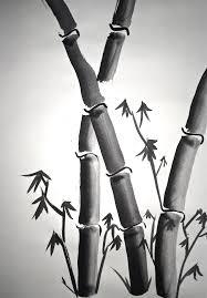 sumi e painting lesson bamboo