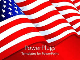 American Flag Powerpoint Template Metabots Co