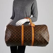 louis vuitton keepall 55. authentic lv keepall 55 *sold locally* louis vuitton a