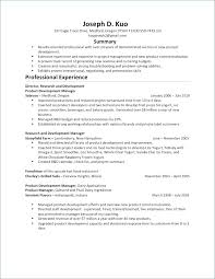 Example Of Executive Resume Awesome Product Manager Resume Sample Pdf Product Development Manager Cv