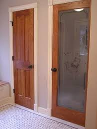 white interior doors with stained wood trim. Wonderful Doors Gonna Take Our Doors To A Salvage Store Have Them Stripped And Stained  This Weekend Love The Rich Look Of Painted White Trim With White Interior Doors Stained Wood Trim I