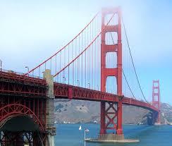 long painting coating golden gate bridge