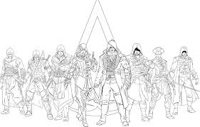 Amazoncom Assassins Creed The Official Coloring Book