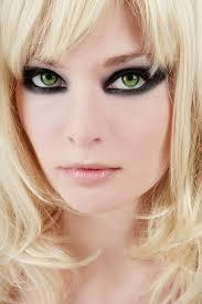 eye makeup for green eyes blonde hair