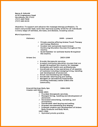 8 Massage Therapy Resume Examples Massage Therapist Resume Example