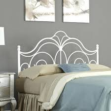 white iron headboard. Beautiful Iron Marvellous Design White Iron Headboard Queen Innovative Bedroom With Metal  Us Awesome On Throughout