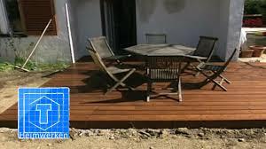 Holz Terrasse Selber Bauen Tooltown Heimwerken Youtube