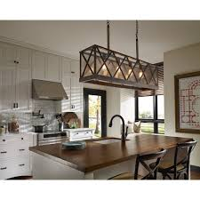 seeded glass island light weathered oak oil rubbed bronze feiss lighting rm1