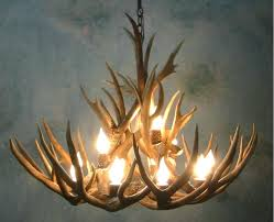 chandeliers real antler lighting real elk antler chandelier antler chandelier for in canada antler