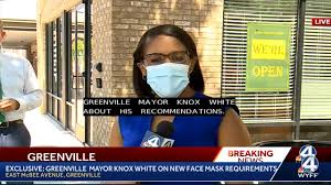 WYFF News 4 - EXCLUSIVE: Greenville Mayor Knox White on face mask  requirements   Facebook