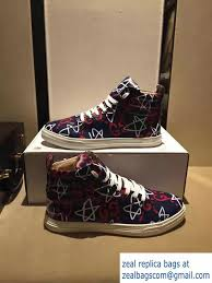 gucci shoes for men high tops 2016. gucci guccighost high-top men\u0027s sneakers 448480 blue/red 01 2016 shoes for men high tops