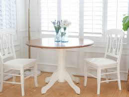 Shabby Chic Vintage Dining Set Round Dining Table And Chairs No112