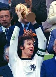 Image result for beckenbauer golden world cup