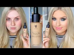 scandal explanation first impression younique touch mineral liquid foundation