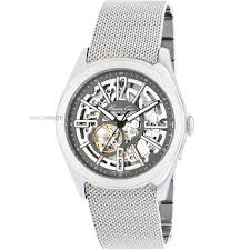 "men s kenneth cole skeleton automatic watch kc9021 watch shop comâ""¢ mens kenneth cole skeleton automatic watch kc9021"