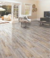 this vinyl flooring captures the rich look of real wood right down to the texture
