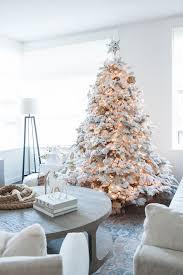 Hallmark Flocked Artificial Christmas Tree  Tree ClassicsSlim Flocked Christmas Trees Artificial