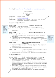 good student cv examples bussines proposal  good student cv examples student cv examples 106890 png