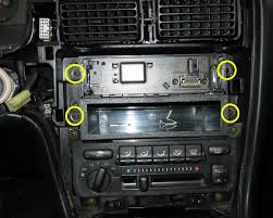 mkii toyota mr2 audio how to four bolts secure the head unit