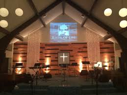 pallet and lights stage backdrop church stage design ideas church lighting ideas i36 church