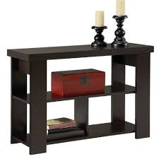 contemporary sofa tables. Contemporary Sofa Table In Espresso Brown Wood Finish Tables