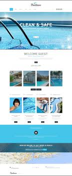 Pool Cleaning Services Joomla Template 52564