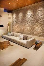 stone wall dining room wall decor ideas