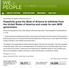 Arizona Secession Petition Falls Short Of Needed Signatures ...