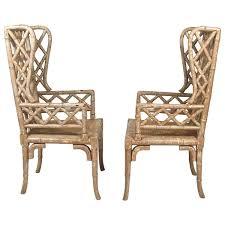 Wingback Chair Rattan Wicker Chair Cushions Metal Wicker Chairs
