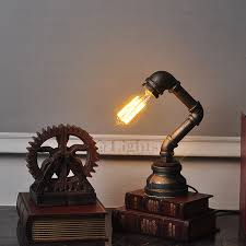 industrial home lighting. Innovative Retro Style Water Pipe Industrial Home Lighting Elegant Lamps Throughout 2