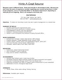 Resume Leadership Skills List For Resume