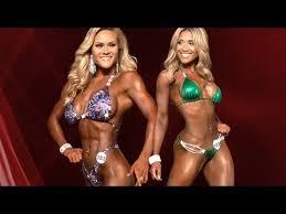 muscle beach women onstage