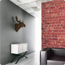 red brick wallpaper or