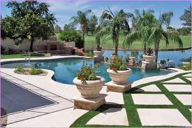 Small Picture Photo of Pool Landscaping Ideas On A Budget Garden Design Garden