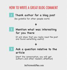 how to write a great blog comment have you ever thought about blog comments as an online marketing tool in this article