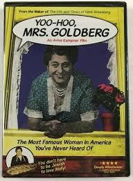 NEW Yoo-Hoo, Mrs. Goldberg DVD An Aviva Kempner Film 767685225080 | eBay