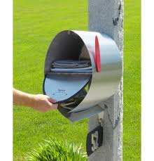 open residential mailboxes. Spira Stainless Steel Post Mount Mailbox Open Large Open Residential Mailboxes O