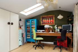 Eclectic home office Exposed Brick 15 Motivational Eclectic Home Office Designs Youll Want To Work In Architecture Art Designs 15 Motivational Eclectic Home Office Designs Youll Want To Work In