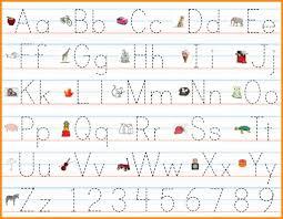 Name writing sheets