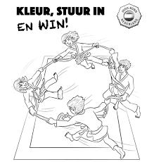 Judo Bond Nederland De Eerste Kleurplaten Zijn Binnen